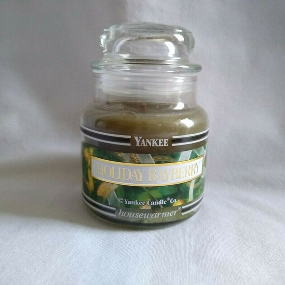 Yankee Candle Holiday Bayberry Small Jar Candle